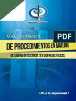 Manual Cadena de Custodia