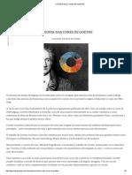 A Teoria Das Cores de Goethe