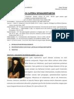 Lingua Latina Humanistarum1