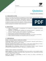Quimica - Programa Intensiva