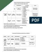 Jadual Program Teknik Menjawab Soalan Spm 2014