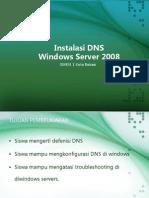 Lab 5 Konfigurasi DNS windows server 2008