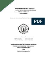 ASUHAN KEPERAWATAN PADA Ny.F G1P0A0  DENGAN INTRAPARTUM SPONTAN PERVAGINAM