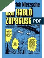 Asi Hablo Zaratustra - Manga - Nietzsche