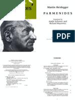 Parmenides - Heiddegger
