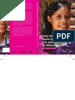 Una Mirada Hacia La Infancia y La Adolescencia en México