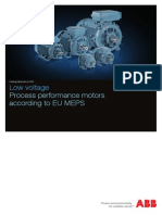 Eletcric Motors Catalog Process Performance