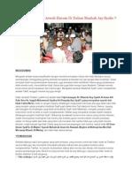 Benarkah Kenduri Arwah Haram Di Dalam Mazhab Asy Syafie