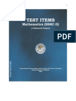 Math Test Item FSC Part 2
