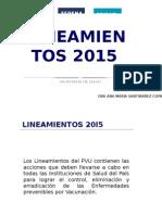 Vacunación Universal 2015
