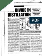 Divided Wall Distillation column