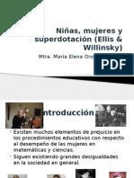 Niñas, Mujeres y Superdotación (Ellis &