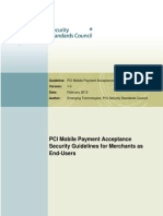 Mobile Payment Security Guidelines Merchants v1