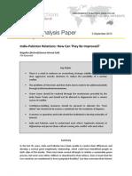 FDI Strategic Analysis Paper - 05 September 2013