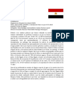 Position Paper - República Árabe de Egipto