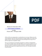 ERA of  General Pervaiz Musharaf