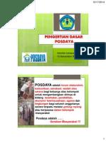 What is Posdaya