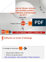 Juppé nettement devant Sarkozy comme candidat UMP préféré pour 2017