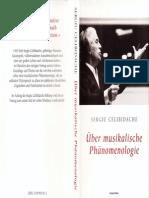 Celibidache - Ueber Musikalische Phaenomenologie
