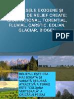 Relieful Creat de Agentii Externi