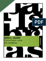 John Austin - Cómo Hacer Cosas Con Palabras