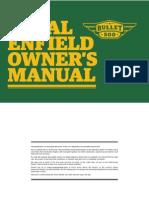 Bullet 500 Owners Manual