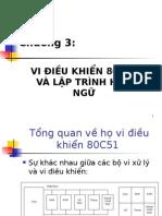 Chuong 3 8051 Va Lap Trinh Asm