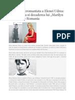 Biografia Neromantata a Elenei Udrea
