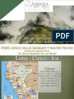 Charla Viaje a Perú - Presentación