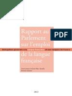 Rapport Annuel 2012 DGLFLF
