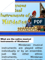 Music of Mindanao
