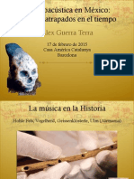 Conferencia Arqueoacústica en México - Casa América Catalunya