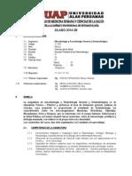 Silabo Microbiología 2014 II