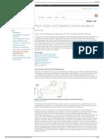 Fiber-Optic and Satellite Communications