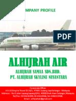 ALHIJRAH AIR  (PROFILE USAHA)