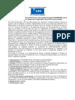 YPF - Aviso de Resultados on Clase XXXVII