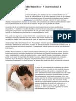 La P?rdida Del Cabello Remedios - 7 Convencional Y Tratamiento Natural