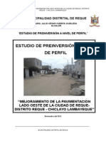 PERFIL PAVIMENTO FLEXIBLE - REQUE