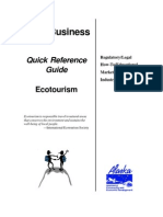Small Business Quick Reference Guide to Ecotourism