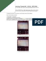HP Prime Programming Tutorial ABC