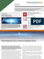 Peak Integration 3