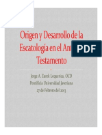 Escatología en El at P_PV