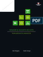 Senzori Si Achzitii de Date - Indrumator de Laborator
