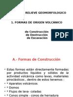 Formas de Relieve Geomorfologico