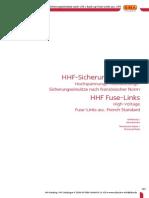 HHF-Sicherungen Siba