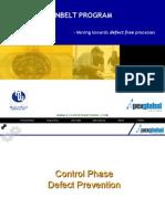 6sigma- Control Phase