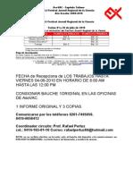 Cronograma y Forma de Pago Regional 2010