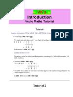 Viraj Kansara's Vedic Maths
