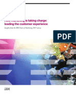 How Mktg is Leading Customer Experience, Global Survey (1)