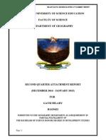 Attachment Report